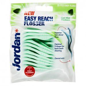 Jordan Easy Reach Flosser Hammaslankain 25 Kpl