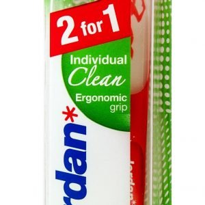 Jordan Individual Clean Medium Hammasharja 2 Kpl