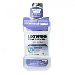 Listerine Professional Fluoride Plus 500 Ml