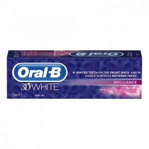 Oral-B 3d White Brilliance Hammastahna 75 Ml