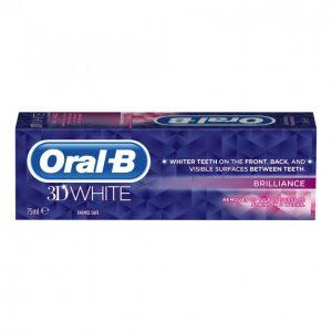 Oral-B 3d White Brilliance Hammastahna 75 Ml
