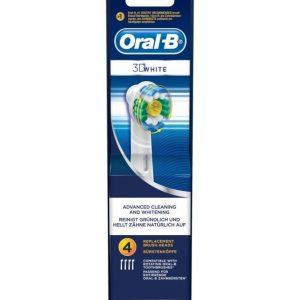 Oral-B 3d White Harjaspäät 4 Kpl