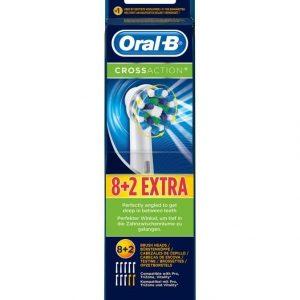 Oral-B Crossaction Harjaspäät 10 Pack