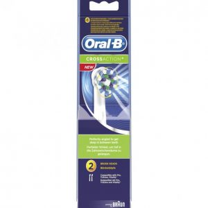 Oral-B Crossaction Vaihtoharja 2 Kpl