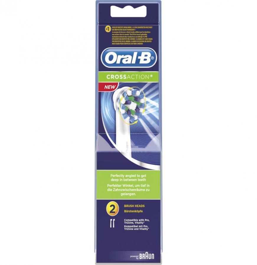 Oral-B Crossaction Vaihtoharja 2 Kpl