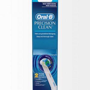 Oral-B Eb 17-2 Precision Clean Harjaspäät 2 Kpl