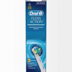 Oral-B Eb 25-2 Floss Action Harjaspäät 2 Kpl