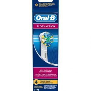 Oral-B Floss Action Harjaspäät 4 Kpl