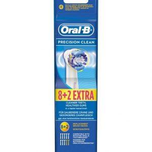 Oral-B Precision Clean Harjaspäät 8 + 2 Kpl