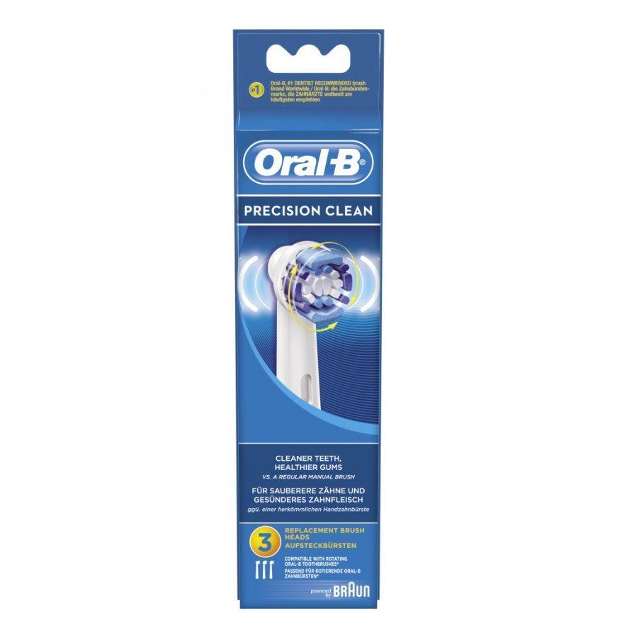 Oral-B Precision Clean Vaihtoharja 3 Kpl