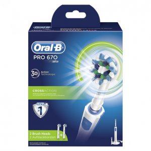 Oral-B Pro 670 Sähköhammasharja