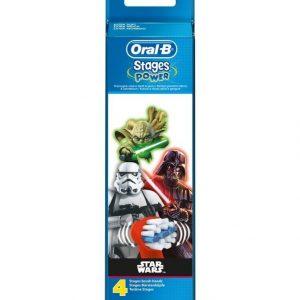 Oral-B Stages Star Wars Harjaspäät 4 Kpl