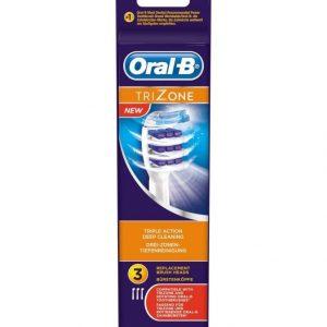 Oral-B Trizone Harjaspäät 3 Kpl