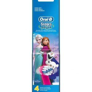 Oral-B Vitality Kids Frozen Harjaspää 4 Pack