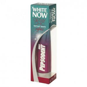 Pepsodent White Now Glossy Chic Hammastahna 75 Ml